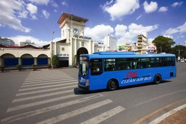 Xe buýt CNG thân thiện với môi trường