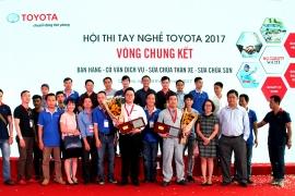 """NHÂN VIÊN SAMCO ĐẠT THÀNH TÍCH CAO  TẠI HỘI THI """"Tay nghề Toyota năm 2017"""""""