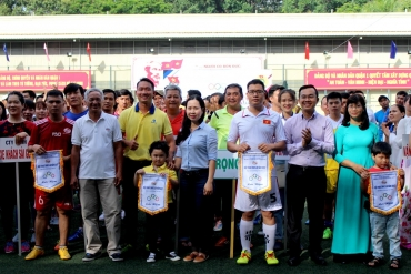 Tổng Công ty tổ chức Hội thao Công nhân Viên chức Lao động năm 2017