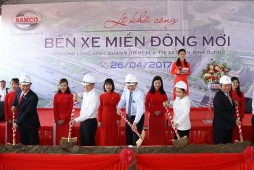 Bến xe Miền Đông mới chính thức được khởi công