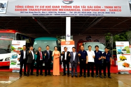SAMCO Tham gia triển lãm tại tỉnh Savannakhet, Lào