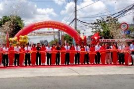 SAMCO tài trợ kinh phí xây đường Vĩnh Nguyên và đường Thầy Ba Lô thuộc xã ...