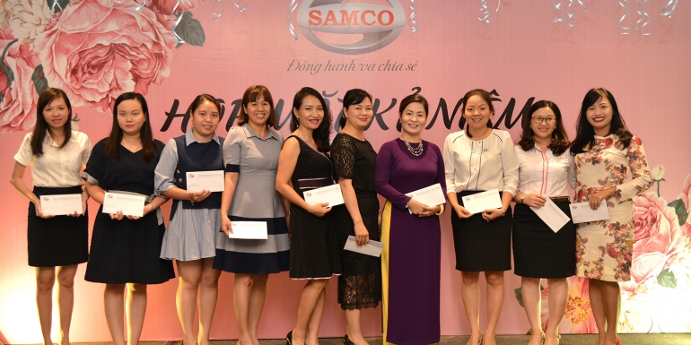 SAMCO CORPORATION'S FUNCTION IN COMMEMORATION OF VIETNAMESE WOMEN'S DAY (October 20)