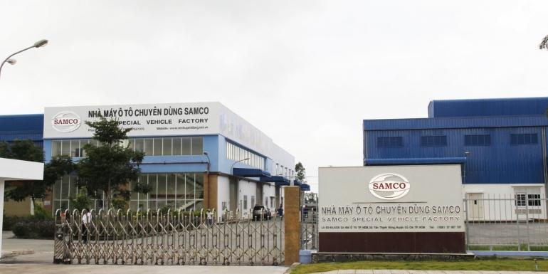 Tưng bừng khai trương Nhà máy Ô tô chuyên dùng SAMCO