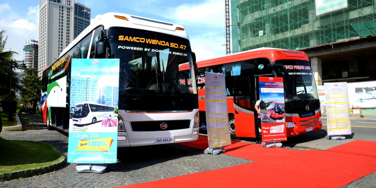 ROADSHOW FROM 5 SEPTEMBER 2018 TO 11 SEPTEMBER 2018 TO SHOWCASE SAMCO PRODUCTS IN CENTRAL AREA