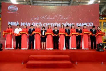 Inauguration of SAMCO Special Purpose Vehicle Factory