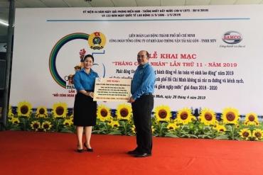 Công đoàn SAMCO tưng bừng khai mạc Tháng Công nhân