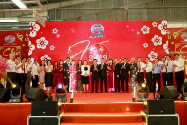 SAMCO JUBILANTLY AND BOISTEROUSLY HOLDS THE 2019 LUNAR NEW YEAR GET-TOGETHER