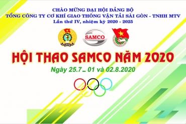 Hội thao SAMCO năm 2020
