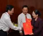 Thành ủy TPHCM trao quyết định bổ nhiệm cho lãnh đạo Tổng công ty SAMCO