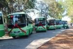 Bí thư Đinh La Thăng dự khai trương 2 tuyến xe buýt Cần Giờ