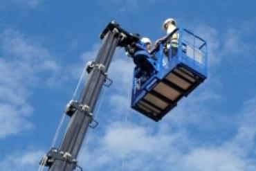 SAMCO ra mắt sản phẩm mới: xe thang nâng người làm việc trên cao