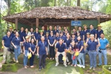 Đảng ủy cơ quan Tổng công ty SAMCO về nguồn thăm căn cứ Trung ương Cục miền ...