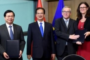"""""""Đón"""" và tận dụng tốt lợi ích từ FTA Việt Nam-Liên minh châu Âu"""