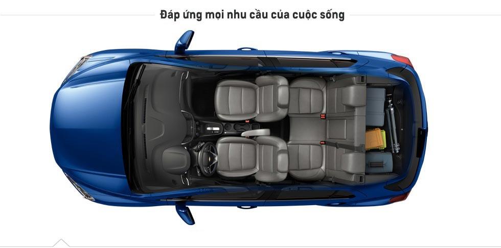 chevrolet vietnam trax car top view vi image 1