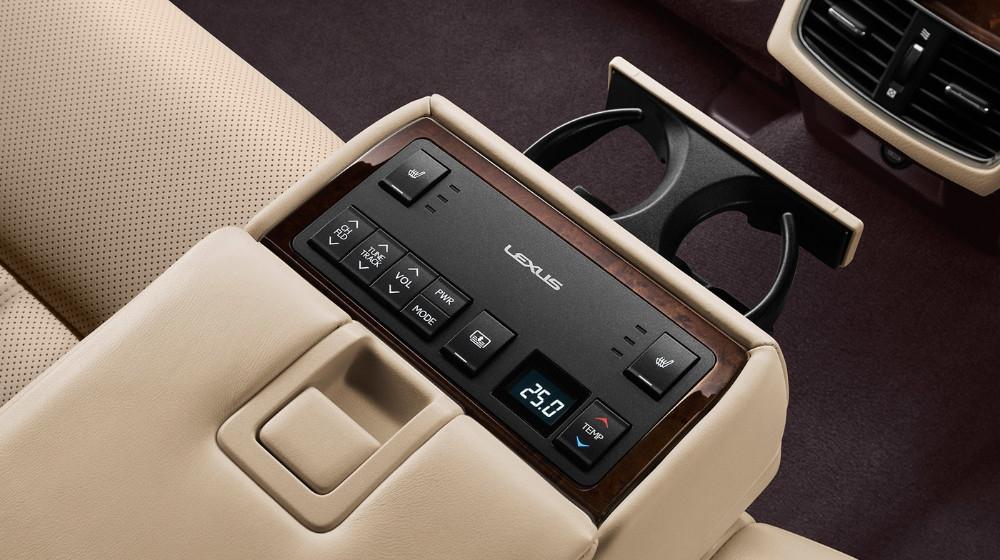 es250 rear seat controls